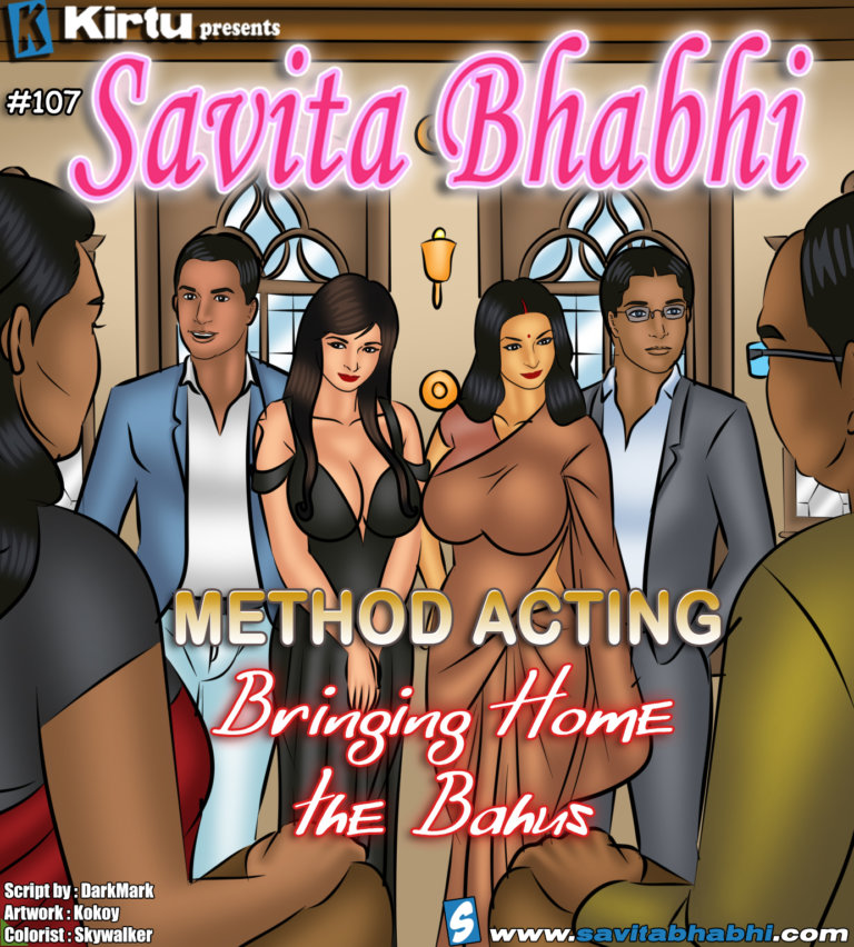 Savita Bhabhi Episode 107 - Method Acting